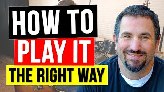 How to Play Communication Breakdown on Guitar - How to Play Led Zeppelin