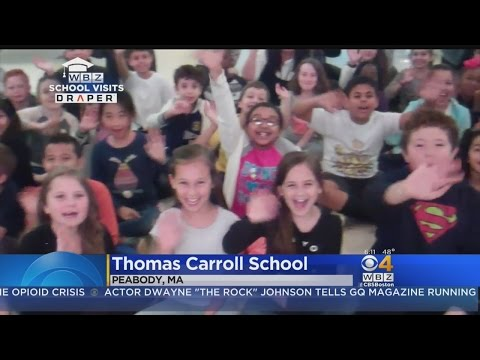 WBZ-TV Weather School Visits: Thomas Carroll School in Peabody, MA