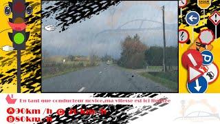Examen code de la route France(1) Permis de conduire france 2017 HD Série 1