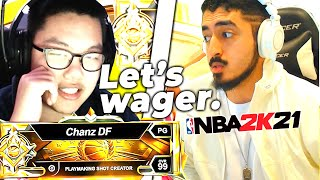 I reunited with Zirinic to wager a LEGEND for $1000 (NBA 2K21)