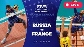 Russia v France - Group 1: 2016 FIVB Volleyball World League