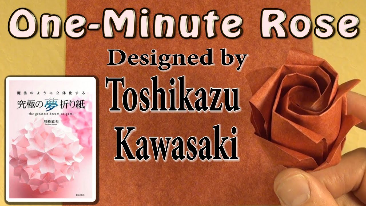 Kawasaki One-Minute Rose Tutorial - YouTube - photo#15