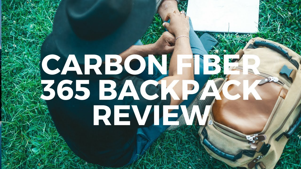 76deb9041f85 Carbon Fiber 365 Backpack review - YouTube