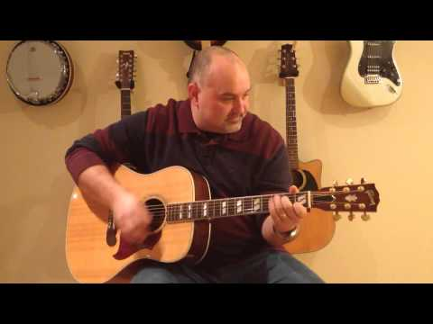 How to Play Cracklin' Rosie- Neil Diamond (cover) - Easy 4 Chord Tune