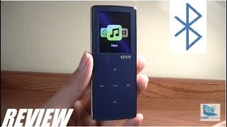 unboxing Onn W6 Bluetooth HiFi Music MP3 Player