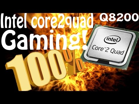 Jugando en un Intel Core 2 Quad Q8200 @2.33GHZ al 100% (benchmarks)