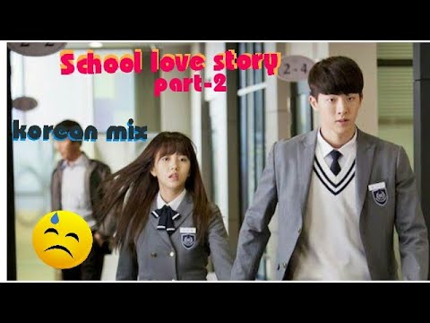 Tere_mere/ School Love Story Part-2/ Korean Mix/ Chef/ School 2015/ Separation With Happy Ending😊✌