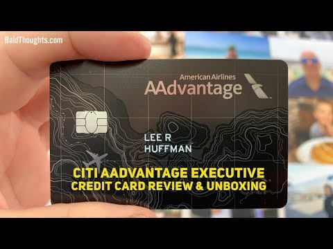 Is This Card Worth $450? Citi AAdvantage Executive Credit Card Review & Unboxing