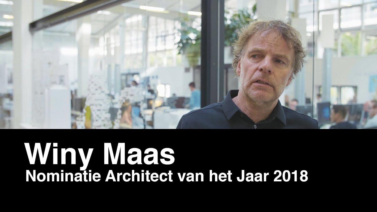 Architectenweb – Architect van het Jaar verkiezing 2018 – Winy Maas