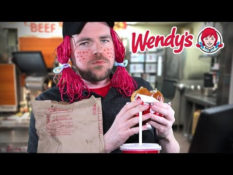 ASMR Wendy's Cashier Roleplay *Sassy & Rude* EATS YOUR FOOD