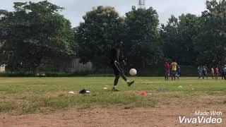 Odunlami Yinka Solomon  Freestyle and ball juggling skills