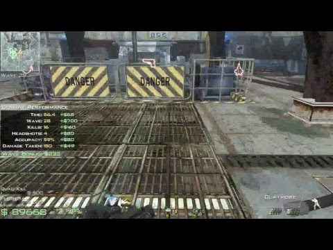 mw3 off shore solo survival