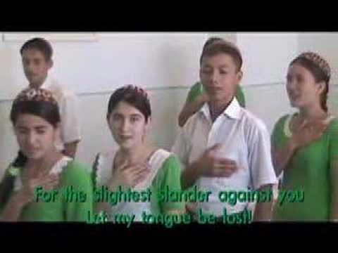 Turkmenistan Oath