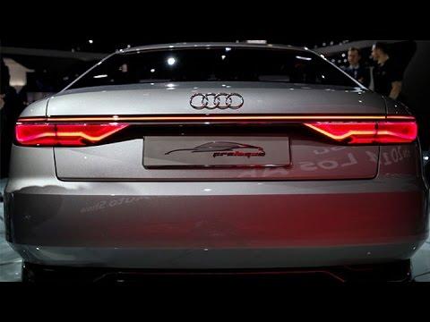 L.A. Auto Show: Audi Shows Off the Prologue Concept - YouTube