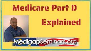 Medicare Part D Expląined (2021)