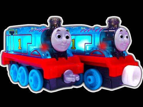 Thomas & Percy Light-Up Racers Take N Play Vs Thomas Adventures Are Cheap Toys Better?