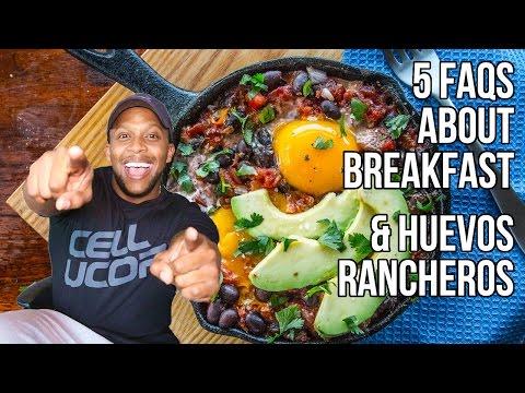 5 FAQs on Breakfast & Healthy Huevos Rancheros