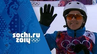 Freestyle Skiing - Ladies' Aerials Final - Alla Tsuper Wins Gold | Sochi 2014 Winter Olympics