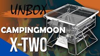 [Unbox] Bếp Dã Ngoại Than/Củi Campingmoon X-Two - Chuyentactical.com