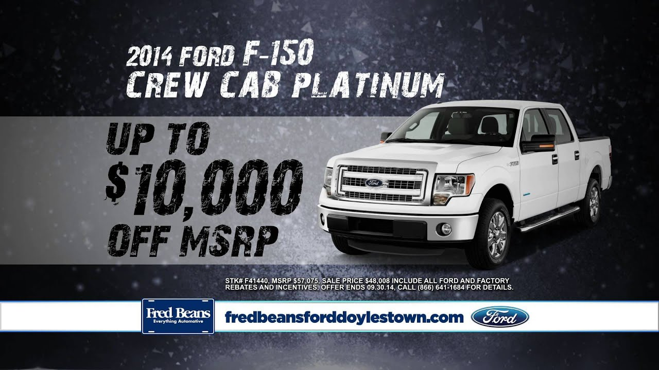 Fred Beans Ford Doylestown >> Ford F 150 America S Truck Fred Beans Ford Doylestown