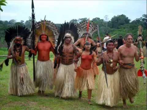 Uma semana na aldeia de indios na amazônia