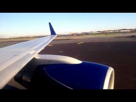 Powerful Delta 757 Takeoff from New York LaGuardia!