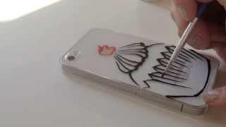 phone case drawing diy drawings iphone cupcake ink speed paintingvalley