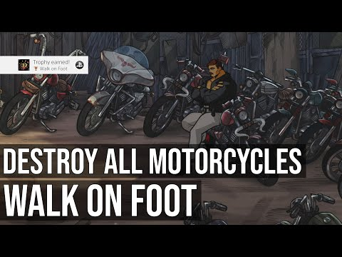 Walk On Foot Trophy (Destroy All Motorcycles) - Streets Of Rage 4