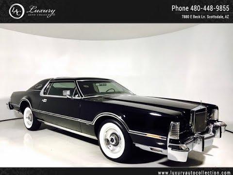 1813 1976 Lincoln Continental Mark Iv White Walls Scottsdale Az