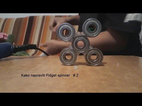 Kako napraviti Fidget Spinner??? #2