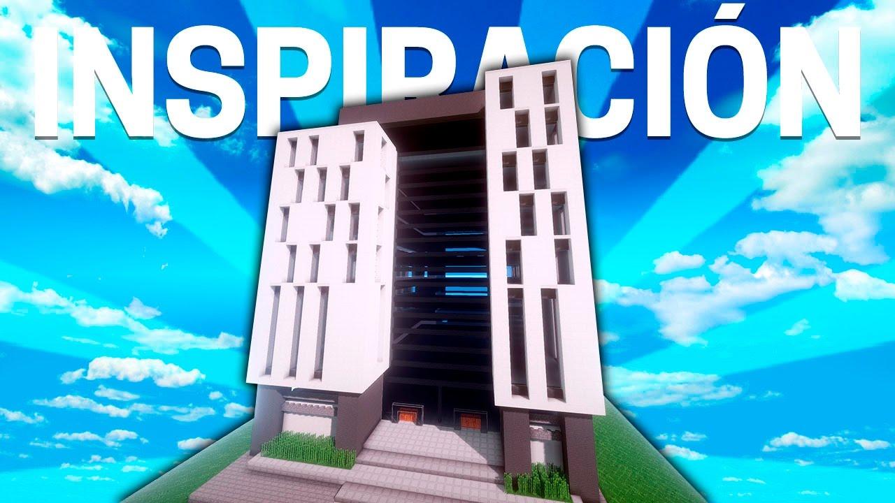 Minecraft edificio moderno de oficinas inspiraci n for Minecraft moderno
