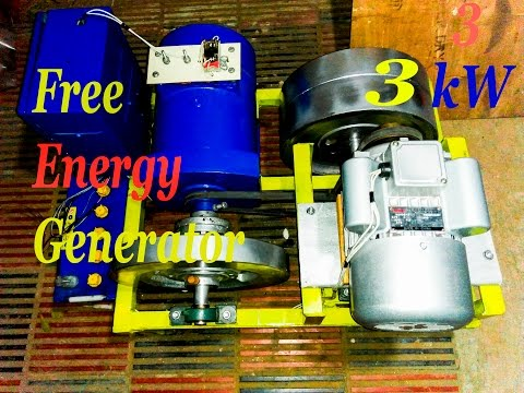 Free Energy Generator 3 kW | R.A Niloy | Bangladesh |