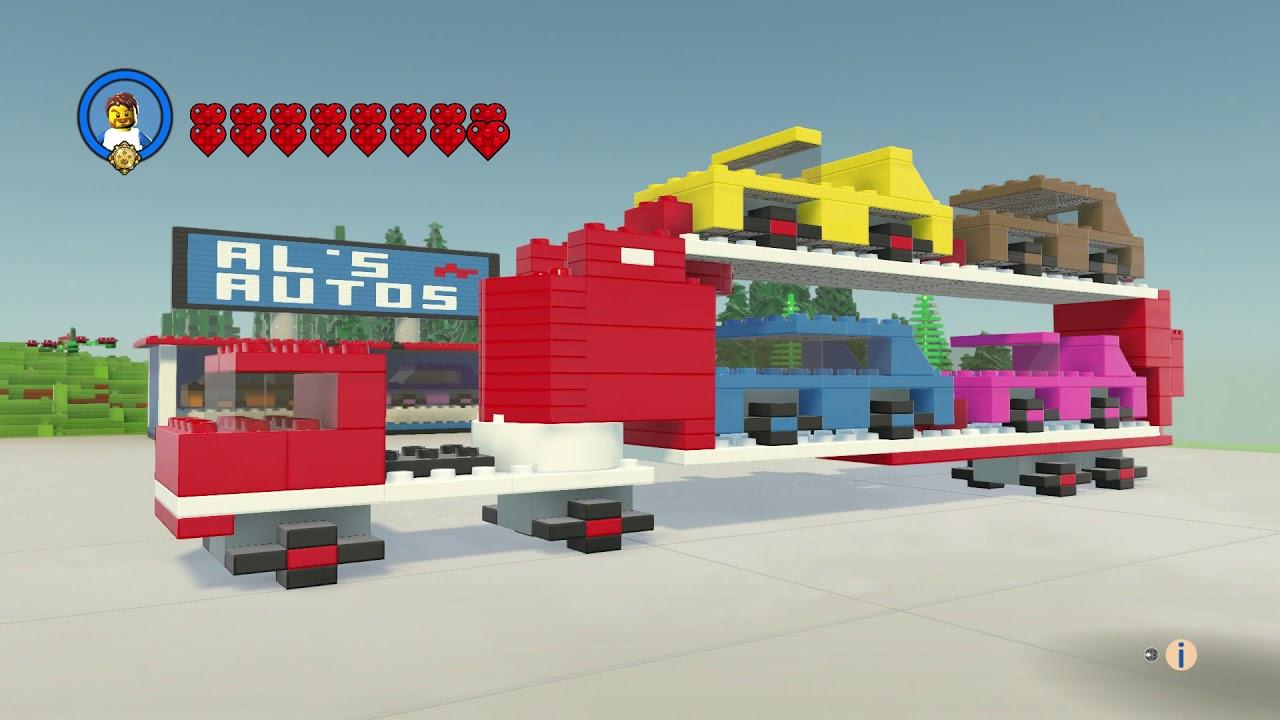 Car Transport - Legoland - Lego Worlds - YouTube