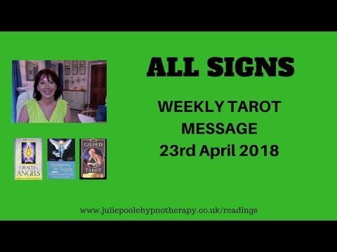 WEEKLY TAROT MESSAGE 23RD APRIL 2018