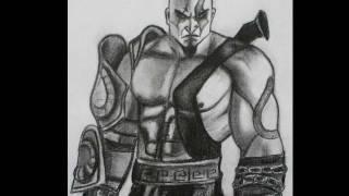 How to draw Kratos - God of War 3