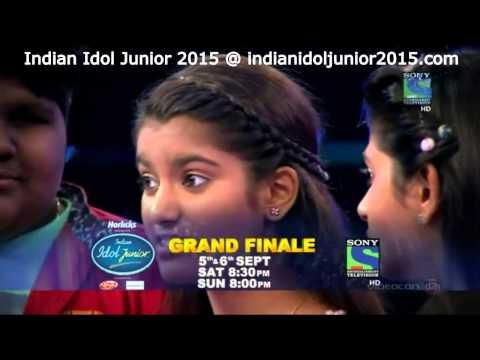 Indian Idol Junior 2015 Grand Finale - 5 & 6 September 2015