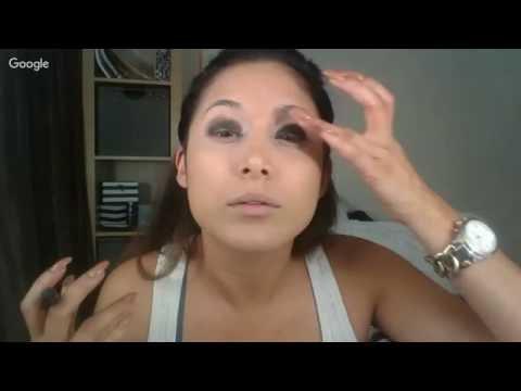 halloween makeup en vivo!!!