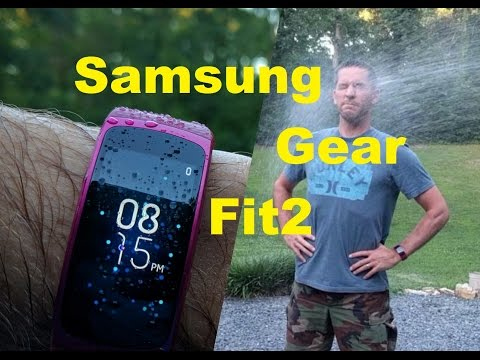 Samsung Gear Fit2**Unbox/Overview/Setup**