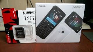 Мобильный телефон для первоклассника NOKIA 222 Dual SIM за 35-40$
