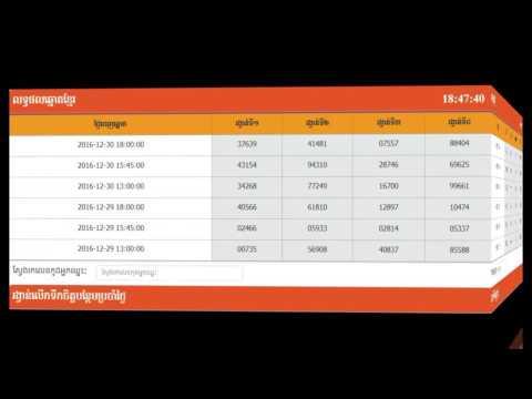 Repeat Prediction of Vina24h on 19/05/2017 at 5:00pm, ការ