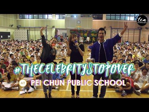 #TheCelebrityStopover at Pei Chun Public School