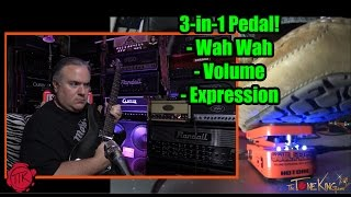 HOTONE Soul Press 3-in-1 Pedal WAH VOLUME EXPRESSION