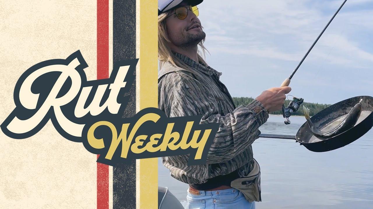 Rut Daniels | Netting Walleye with a Pan