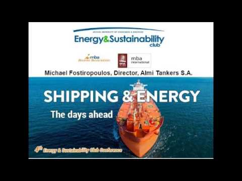 SHIPPING & ENERGY: The days ahead
