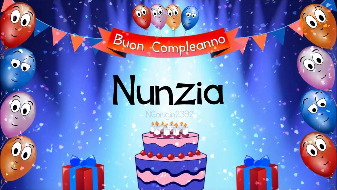 Buon Compleanno Nunzia Youtube