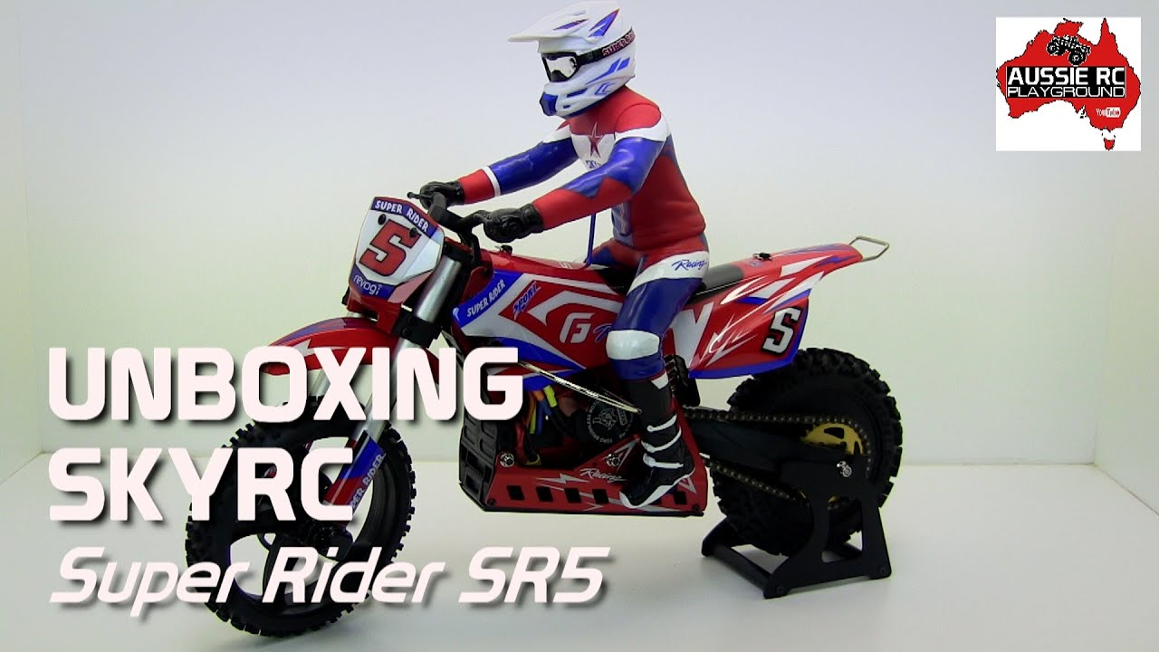 Unboxing Skyrc Super Rider Sr5 Dirt Bike Youtube