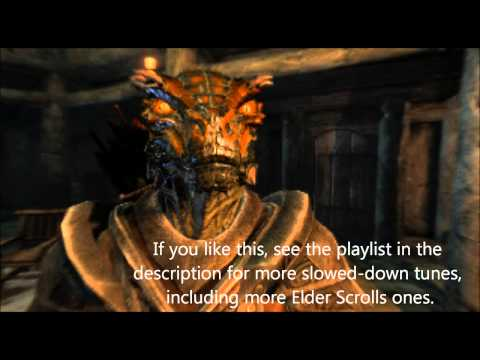 The Bannered Mare 10x slower - Skyrim OST