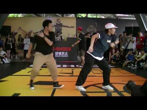 G-SHOCK SHANGHAI GUEST DANCE GOEMON(KYOKA&SHUN&ATSUKI&YUUKI)