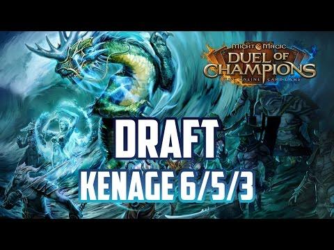 Might & Magic Duel of Champions - Draft Mode S09E01 - Świątynia Kenage 6/5/3