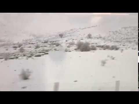 La nieve ya se asoma por Cantabria